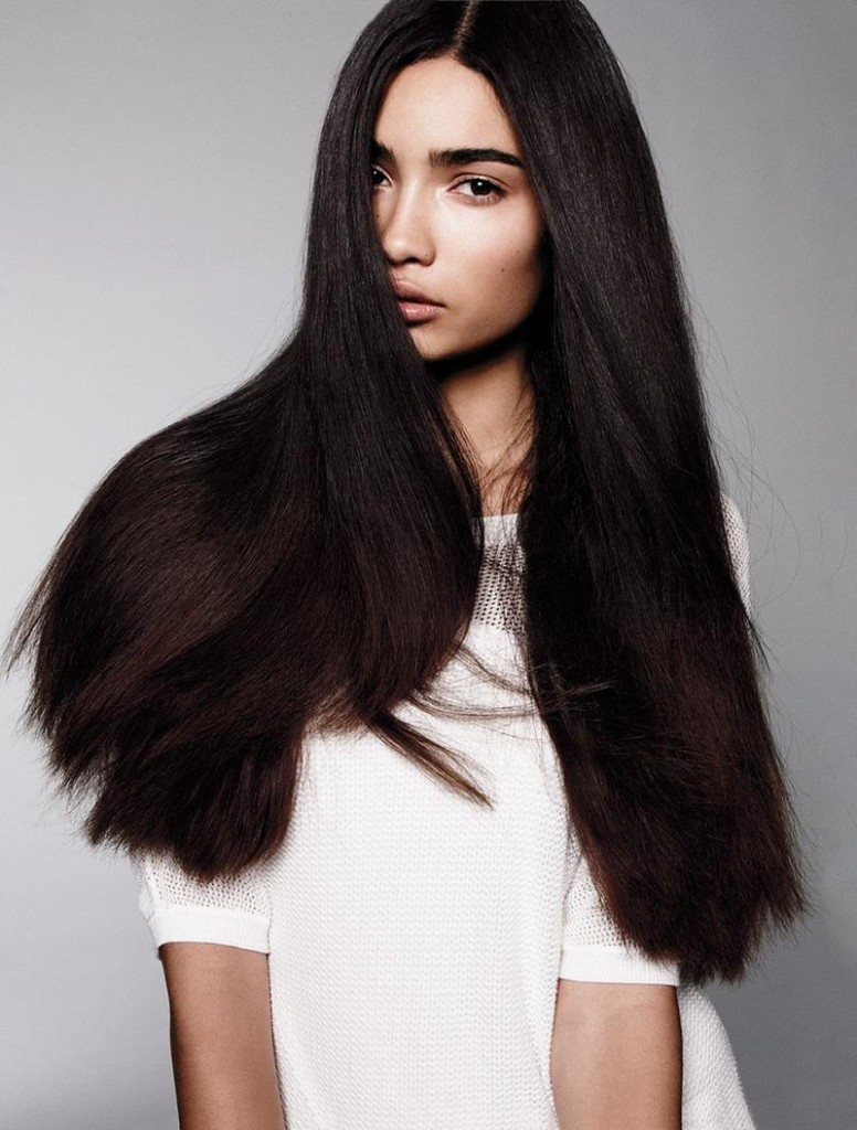 Straight Hair Natural Texture