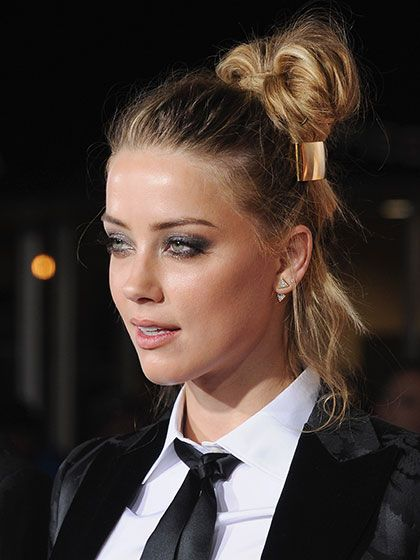 Chic Side Top Knot