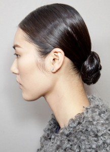 Low Top Knot Chignon