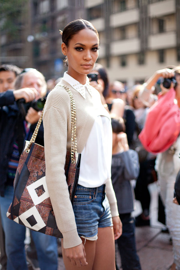 Top Knot Joan Smalls